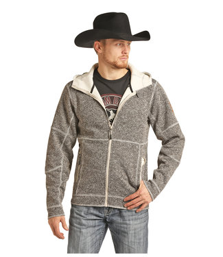 Panhandle Slim Heather Grey Zip Up Jacket