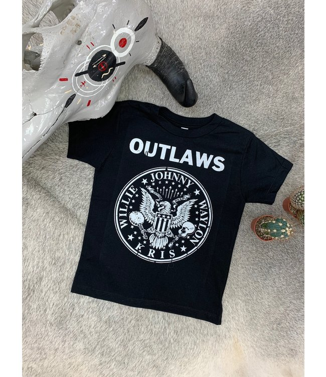 Country Deep Kids Outlaws Tee