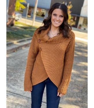 Panhandle Slim Rust Wrap Sweater
