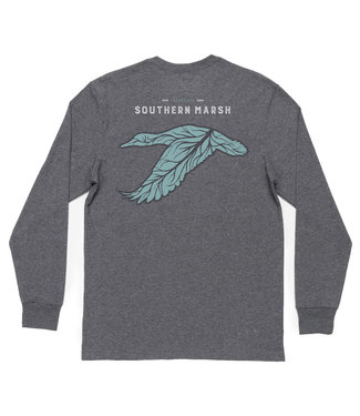 Southern Marsh Long Sleeve Delta Duck Tee