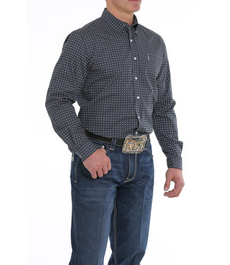 Cinch Mens L/S Print MTW1343101