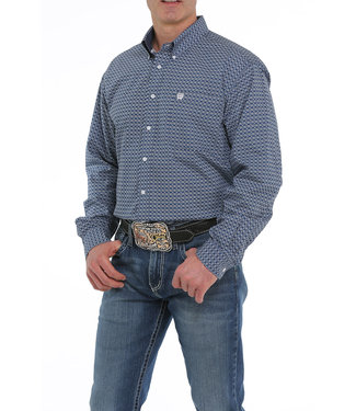Cinch Mens L/S Print MTW104924