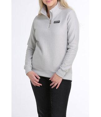 Cinch Womens Grey 1/4 Zip