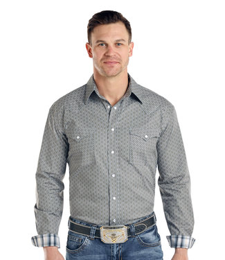Panhandle Slim R0S3200 MENS LS SNAP