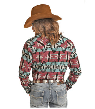 Panhandle Slim B2S2323 MENS LS SNAP