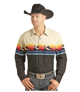 Panhandle Slim 30S3051 MENS LS SNAP