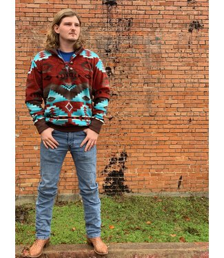 Western Wits Red Canyon Pullover