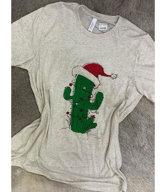 southern leopard Christmas Cactus Tee