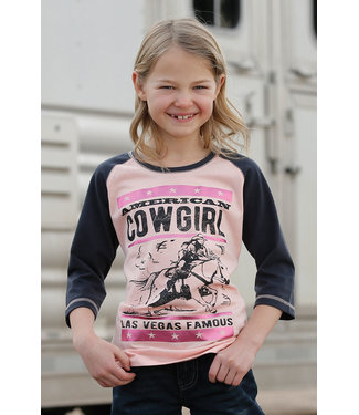 Cinch Cruel Girl Vegas Raglan Tee