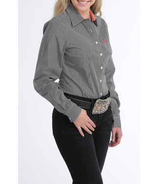 Cinch Cinch Ladies Black Stripe Shirt MSW9164123