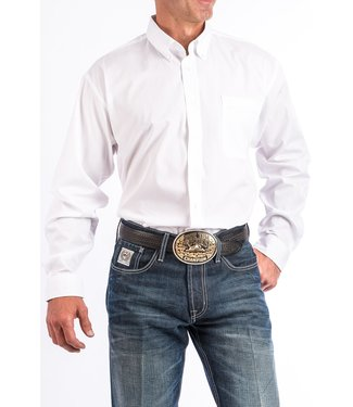 Cinch Cinch Pinpoint White Shirt