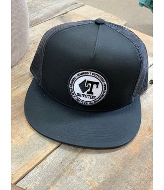 Diamond T Outfitters Black Out Circle Patch