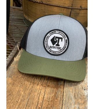 Diamond T Outfitters Olive-Denim Circle Patch