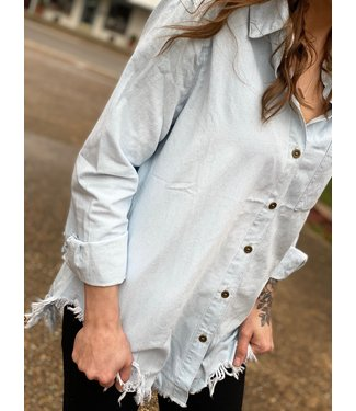 Raw Denim Shirt