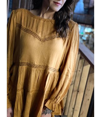 By Together Mustard Prairie Top