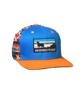 Dale Brisby Rodeo Time Sunset Navajo Cap