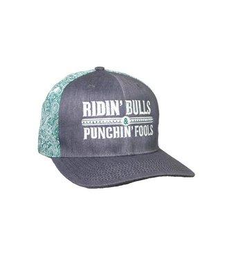 Dale Brisby Ridin' Bulls Green bandana Cap