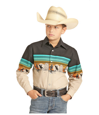 Panhandle Slim Boys Old Timer Bull Pearl Snap