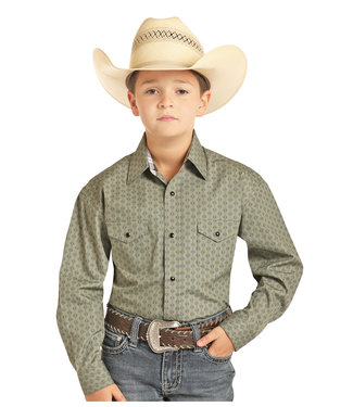 Panhandle Slim BOYS LS SNAP C0S4765