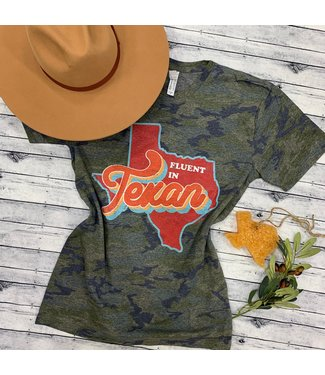 Ranch Swag Fluent in Texan Tee