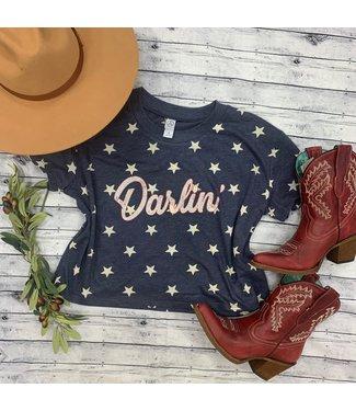 Ranch Swag Darlin Star Crop Tee