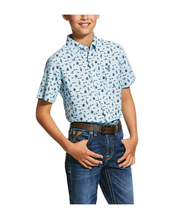 Ariat Intl Boys Norristown SS 10030603