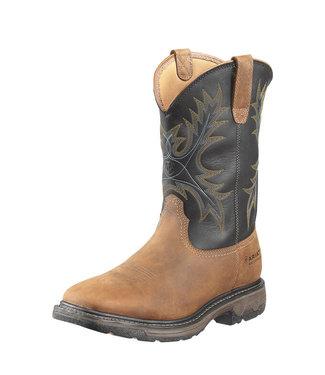 Ariat Intl WorkHog Wide Square Toe Waterproof Steel Toe Work Boot