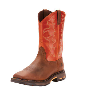 Ariat Intl Ariat WorkHog Wide Square Toe Steel Toe Work Boot