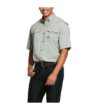 Ariat Intl Rebar Ventek Olive Shirt