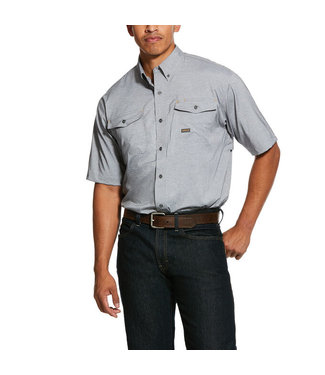 Ariat Intl Rebar Ventek Grey Shirt