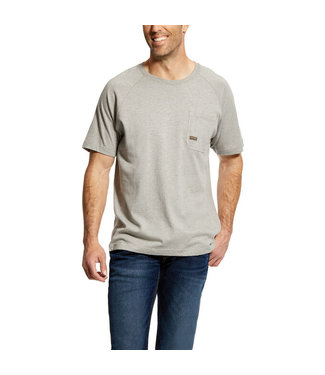 Ariat Intl CottonStrong Tee Heather Grey