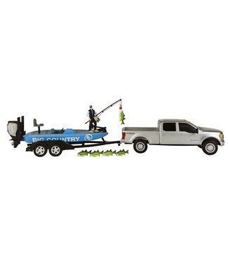 Big Country Toys Truck & Boat Fishing Set