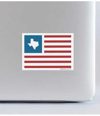 Tumbleweed TexStyles United States of Texas Decal