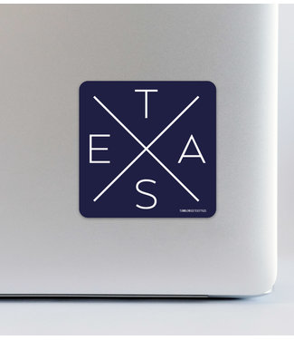 Tumbleweed TexStyles Big X Decal
