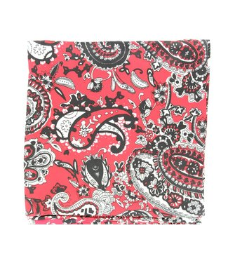 Diamond T Outfitters Wild Rag 33x33 Paisley Red