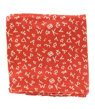 Diamond T Outfitters Wild Rags 33x33 Branded Burnt Orange