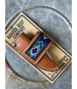 Western Fashion Accessories Blue Bead Sheath Light