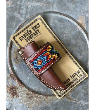 Western Fashion Accessories Rainbow Bead Sheath