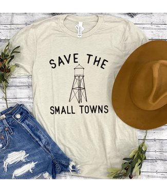 Rosebud's Designs Small Towns Tee