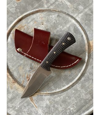 Western Fashion Accessories Twisted X Fixed Blade Black Handle