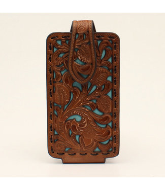 M&F Western Nocona Large Tooled Cell Phone Case