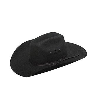 M&F Western Twister Kids  Felt Hat Black T7213001