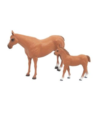 Big Country Toys Quarter Horse & Mare Colt