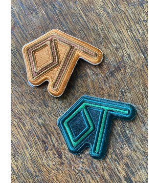 Diamond T Outfitters Green DTO Brand Patch