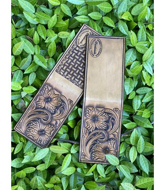 Van Curen Leather Van Curen Tan Custom Front Pocket Wallet