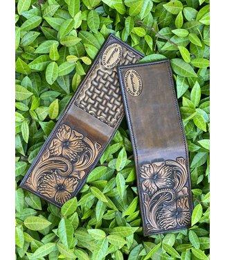 Van Curen Leather Van Curen Chocolate Custom Front Pocket Wallet