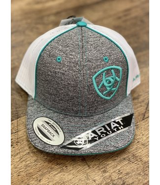 Diamond T Outfitters YOUTH Ariat Heather Turquoise Cap