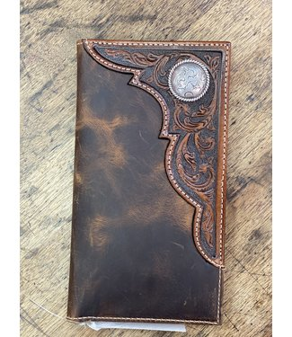 Ariat Intl Ariat Rodeo Distressed Concho Wallet