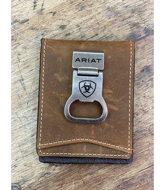 Ariat Intl Ariat Money Clip Bottle Opener Wallet