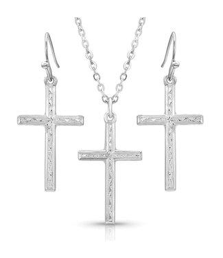 Gratitude Cross Jewelry Set
